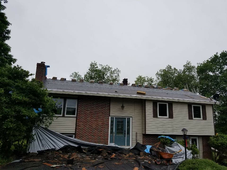 Roof Repairs Franklin Nh Request A Quote H Amp H Exteriors