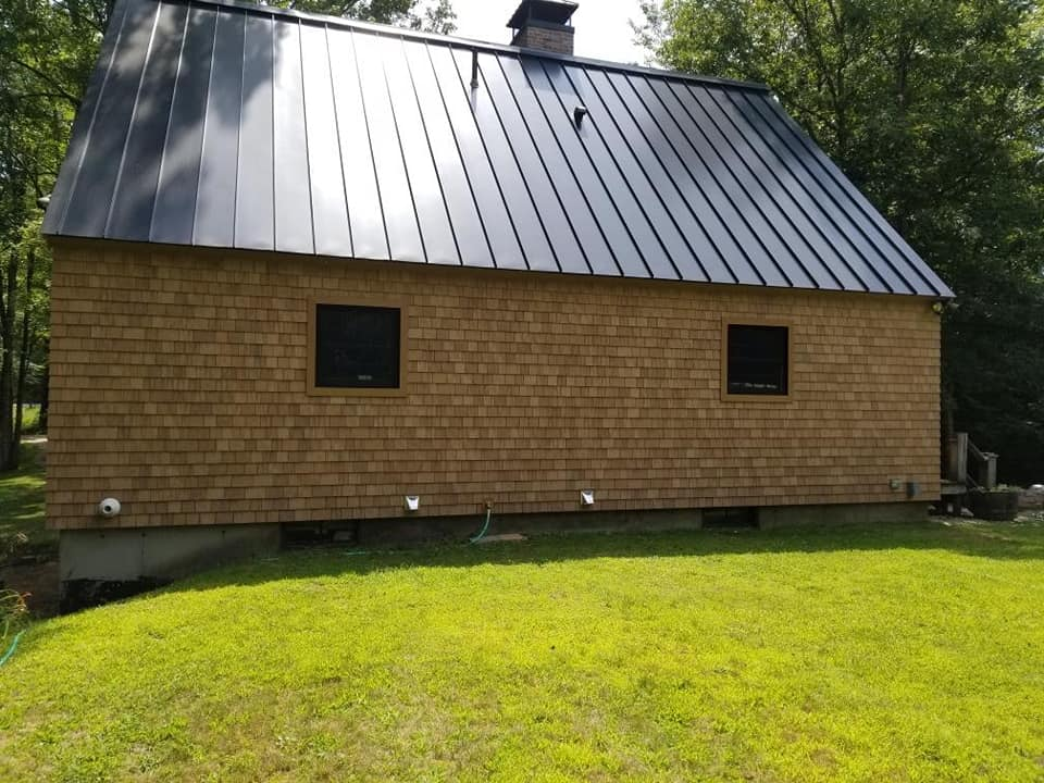 New Roof Installation Pembroke Nh H Amp H Exteriors Pembroke